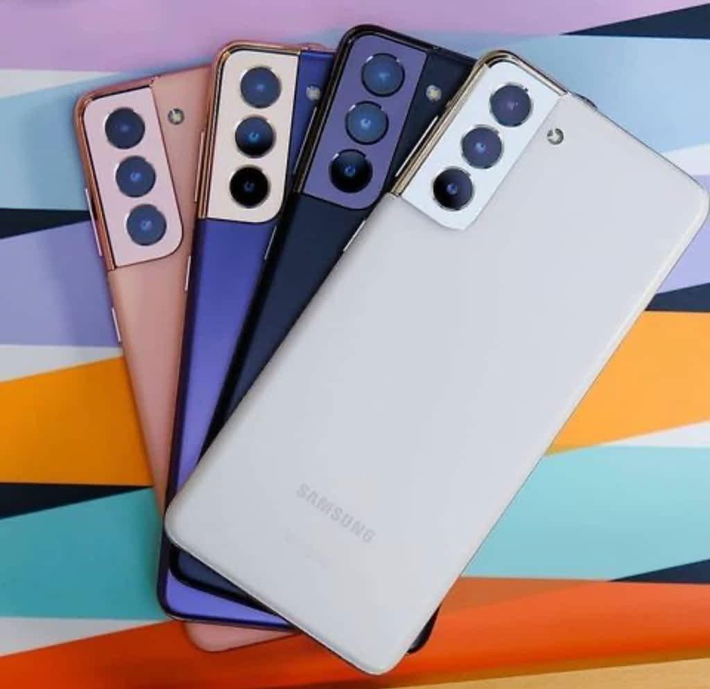 Samsung Galaxy S21, Design