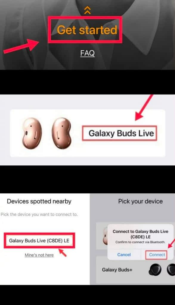 How to Connect Galaxy Buds Live to your iPhone and iPad