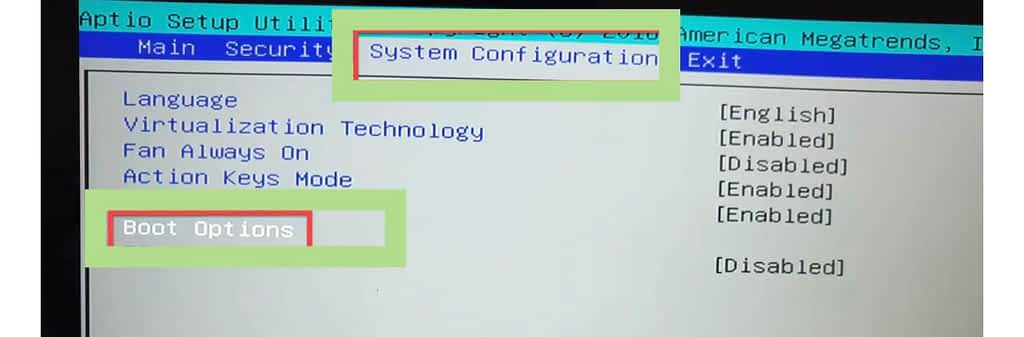 this image  is to show the system configuration
