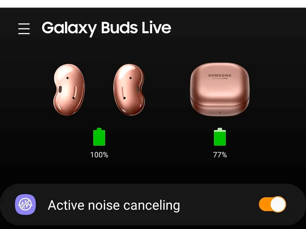 IMG 20210607 002230 turn on Active Noise Cancelling on Galaxy Buds Live and Pro,Turn on Active Noise Cancelling on Galaxy Buds Live and Buds Pro,Turn on Active noise cancelling from the Galaxy Wearable app,Turn on Active Noise Cancelling on the Earbuds Themselves