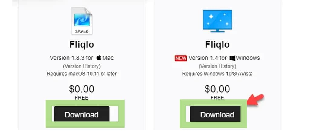 download fliqlo