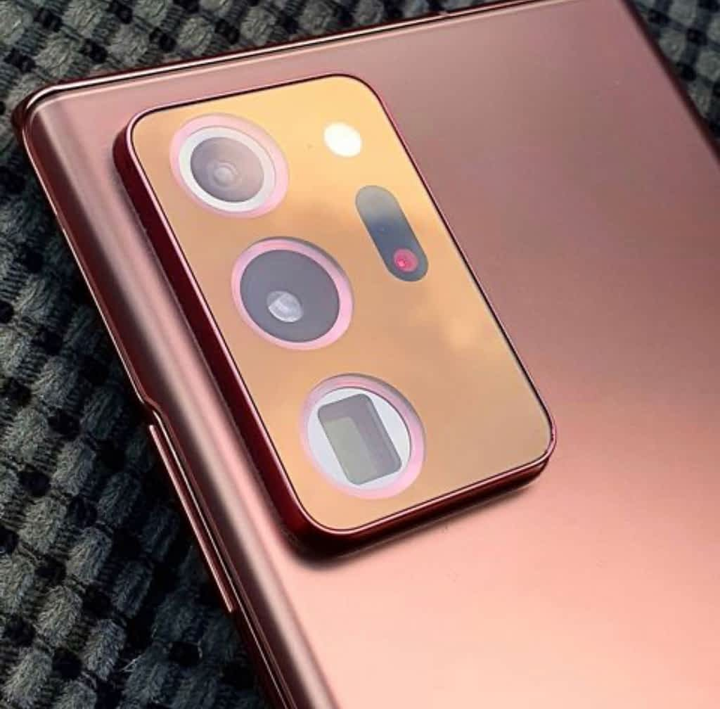 Samsung Galaxy Note 20 Ultra, Cameras
