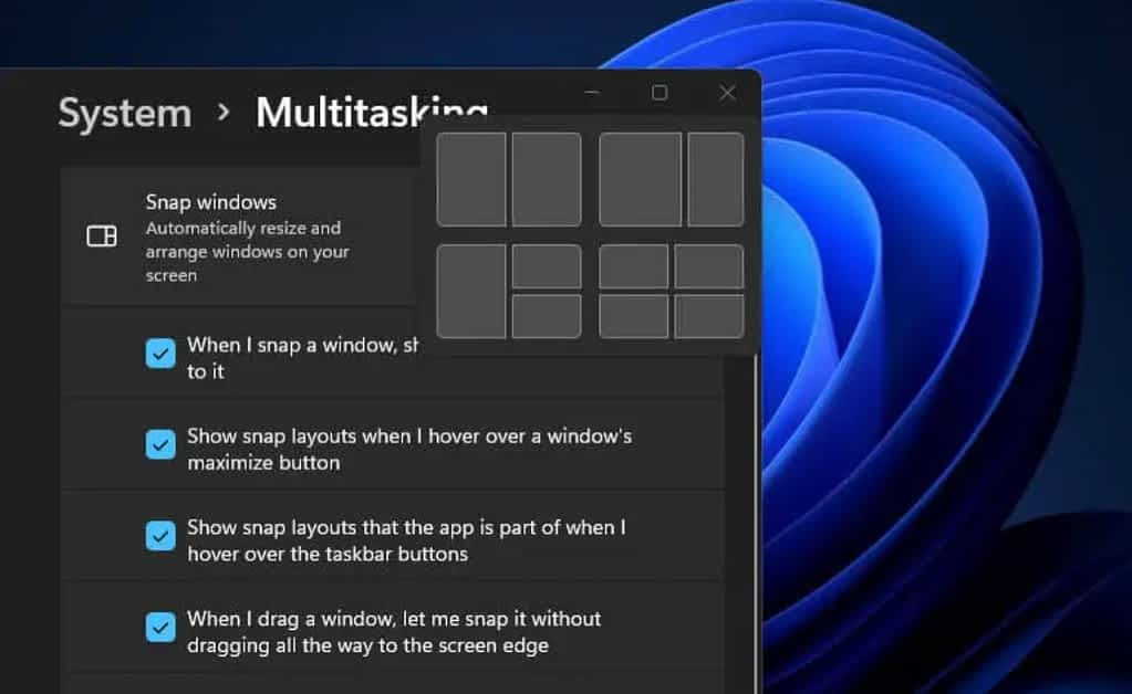 How to Disable Snap Layouts in Windows 11 For Maximize Button