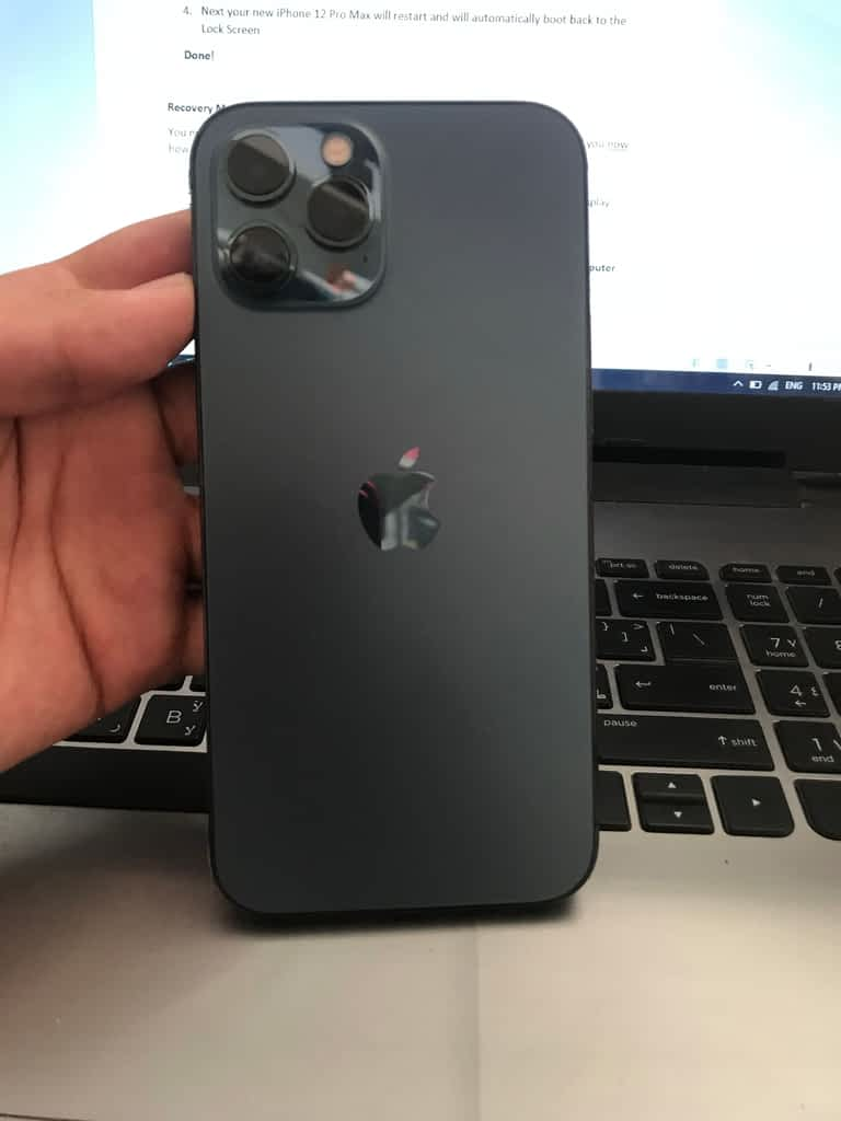 How to turn off iPhone 12 Pro Max?