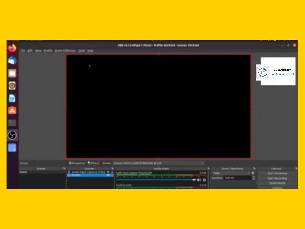How to Fix the OBS Studio Black Screen issue in Ubuntu