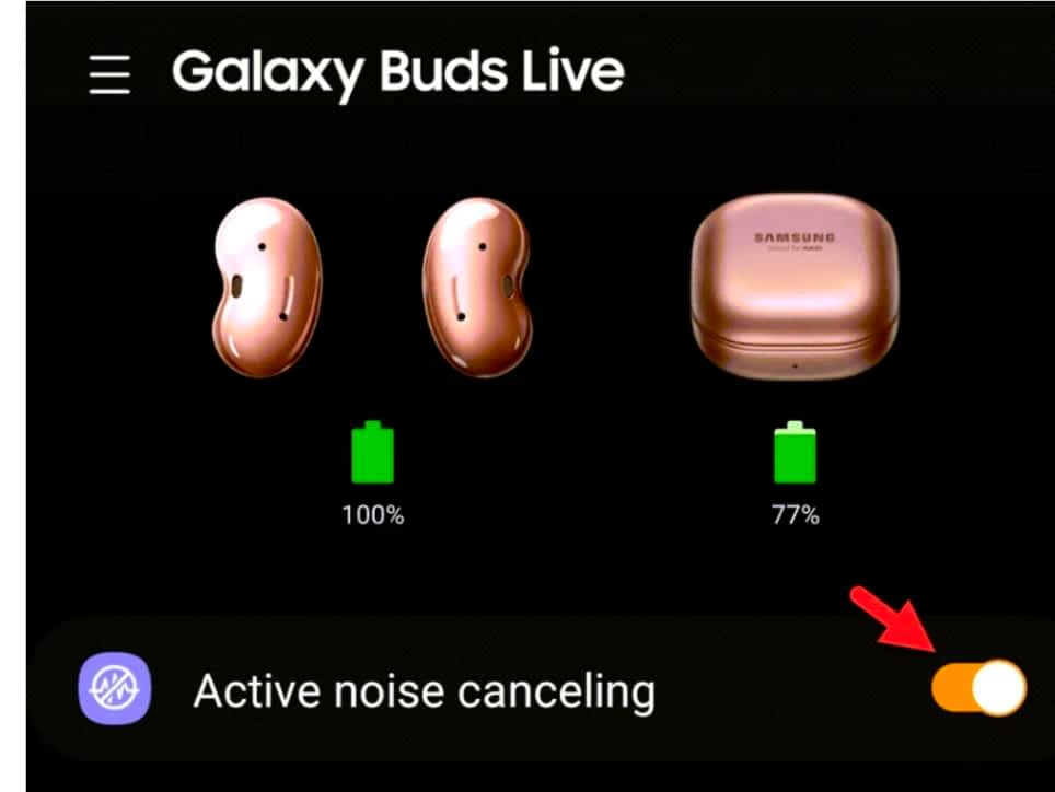 How to Turn On Active Noise Cancelling on Galaxy Buds Live and Pro