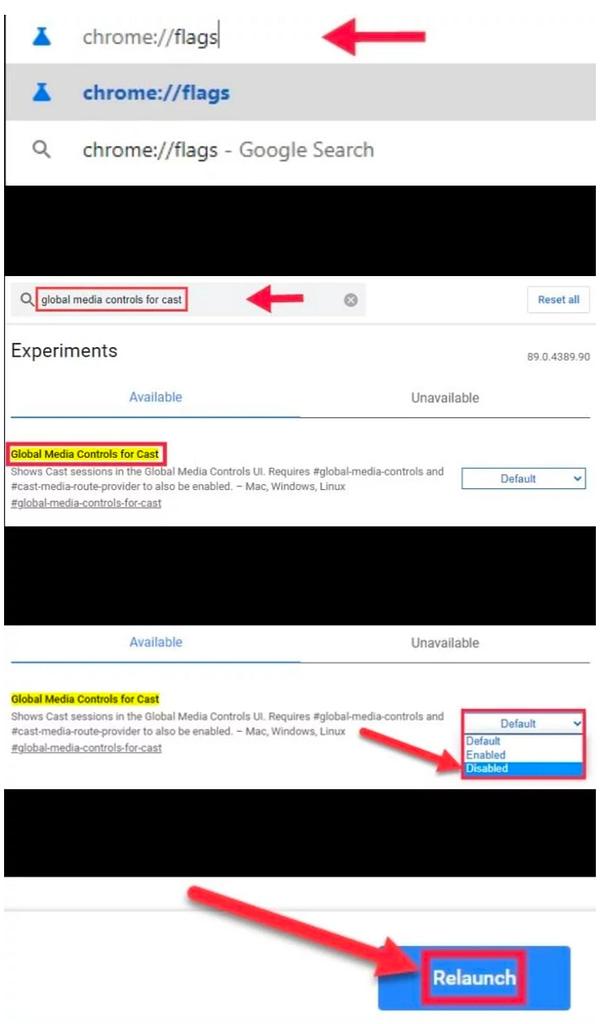 How to Turn Off Chromecast Media Controls in Google Chrome