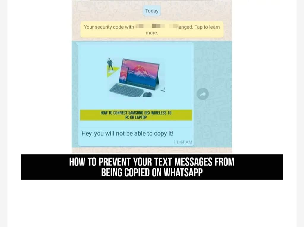 IMG 20210531 234244 Prevent Text Messages from Being Copied on WhatsApp,Stop WhatsApp Text Messages from being Copied