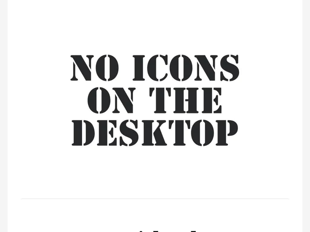 How to Hide the Desktop Icons on macOS Big Sur