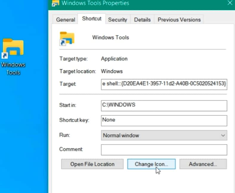 IMG 20210617 220023 create a shortcut to the Windows Tools Folder for easier access,Create a Shortcut to the Windows Tools Folder on Windows 10