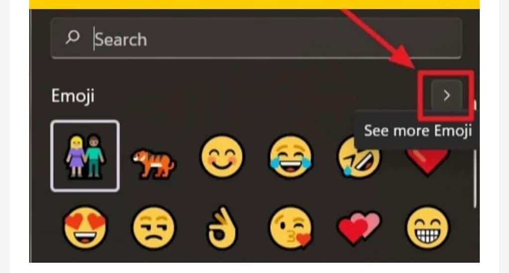 access and use emojis in windows 11, more emojis list