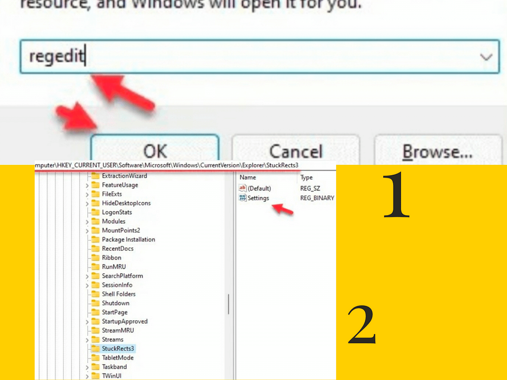 to put Taskbar on the top of your Screen on Windows 11 pc?