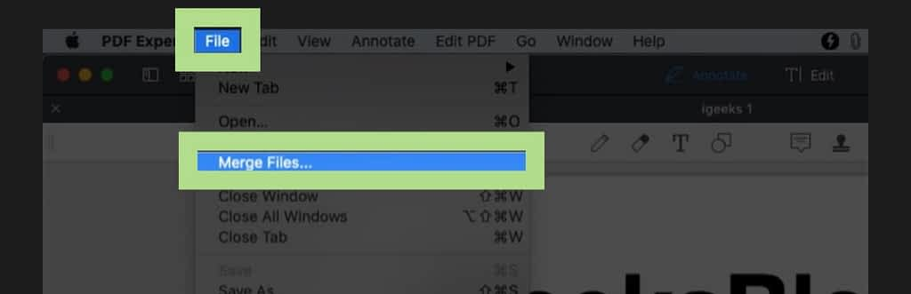 Steps to combine pdfs on mac