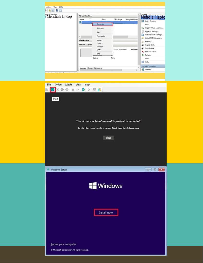 Adobe Post 20210806 1753380.4424584589256674 install Windows 11 on Hyper-V Virtual machine,Create a Windows 11 virtual machine using Hyper-V