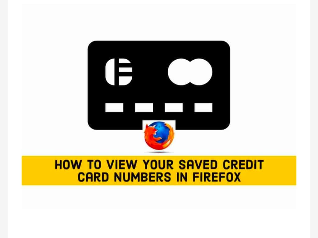 IMG 20210607 175726 Find Your Saved Credit Card Numbers in Firefox