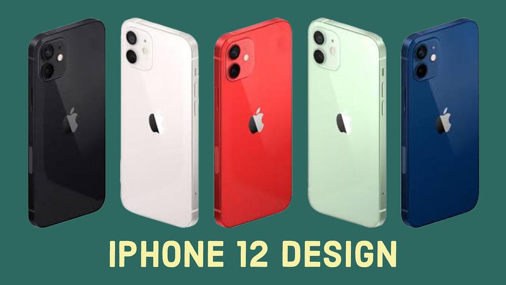 iPhone 12, designs