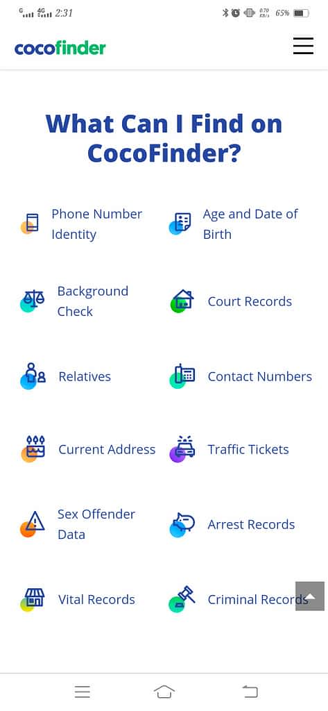 Find an old Childhood Friend Using CocoFinder