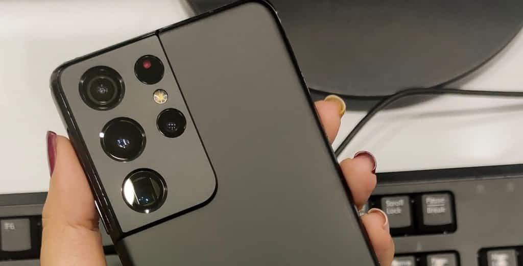 Samsung Galaxy S21 Ultra, Cameras