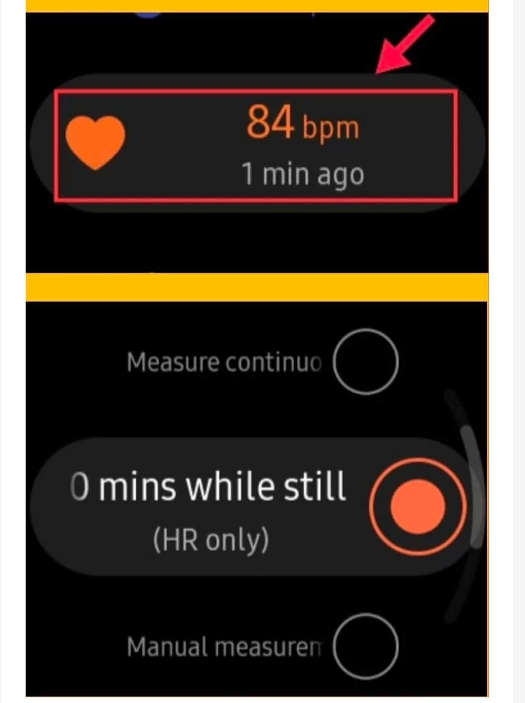 IMG 20210609 233045 measure your heart rate with a Samsung Galaxy Watch,How to Automatically Measure Heart Rate With your Galaxy Watch,How to Manually Check Your Heart Rate with your Galaxy Watch