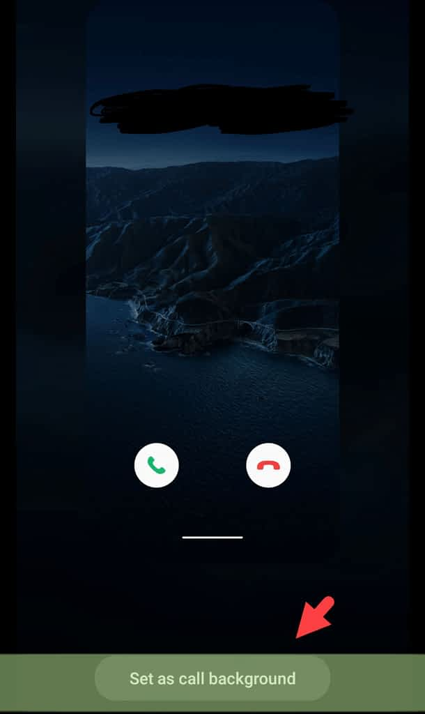 Alter call display background, set as call background
