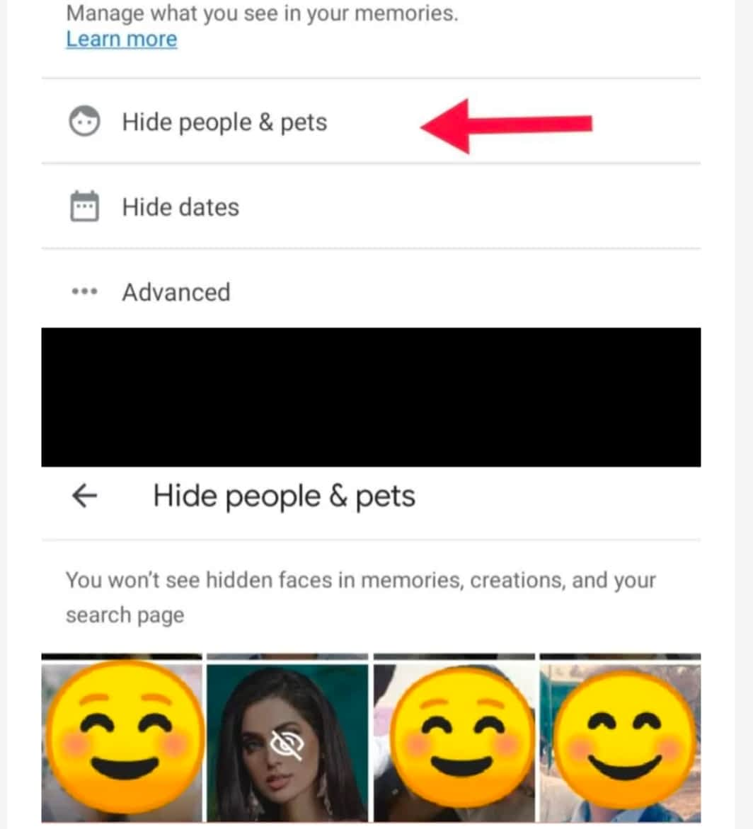 IMG 20210607 014733 Hide People from your Google Photos Memories,Hide certain people from Memories in Google Photos