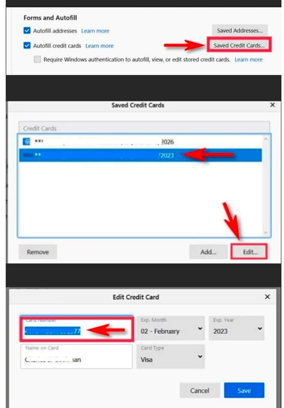 IMG 20210607 175801 Find Your Saved Credit Card Numbers in Firefox