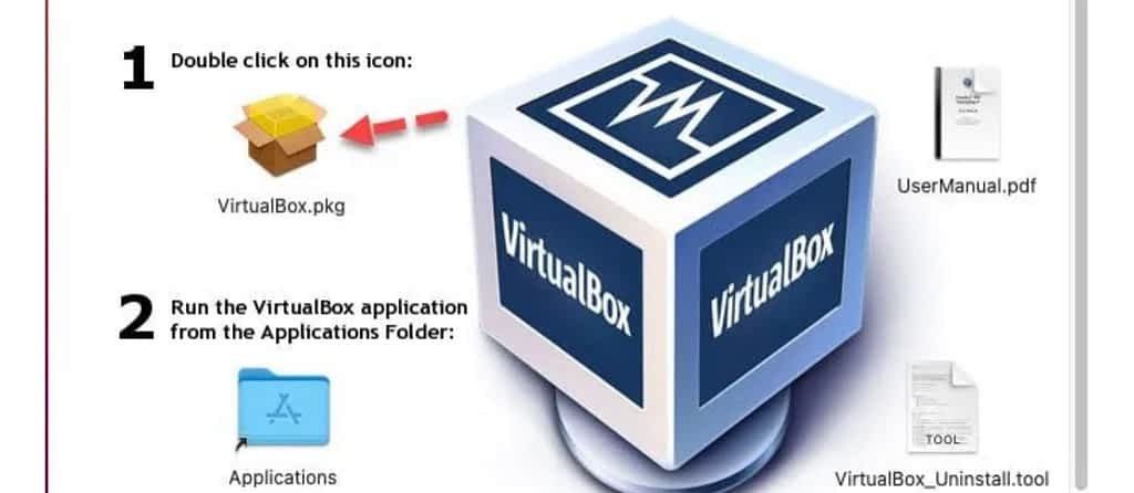 Install Virtual box to install windows 10 on macos big sur